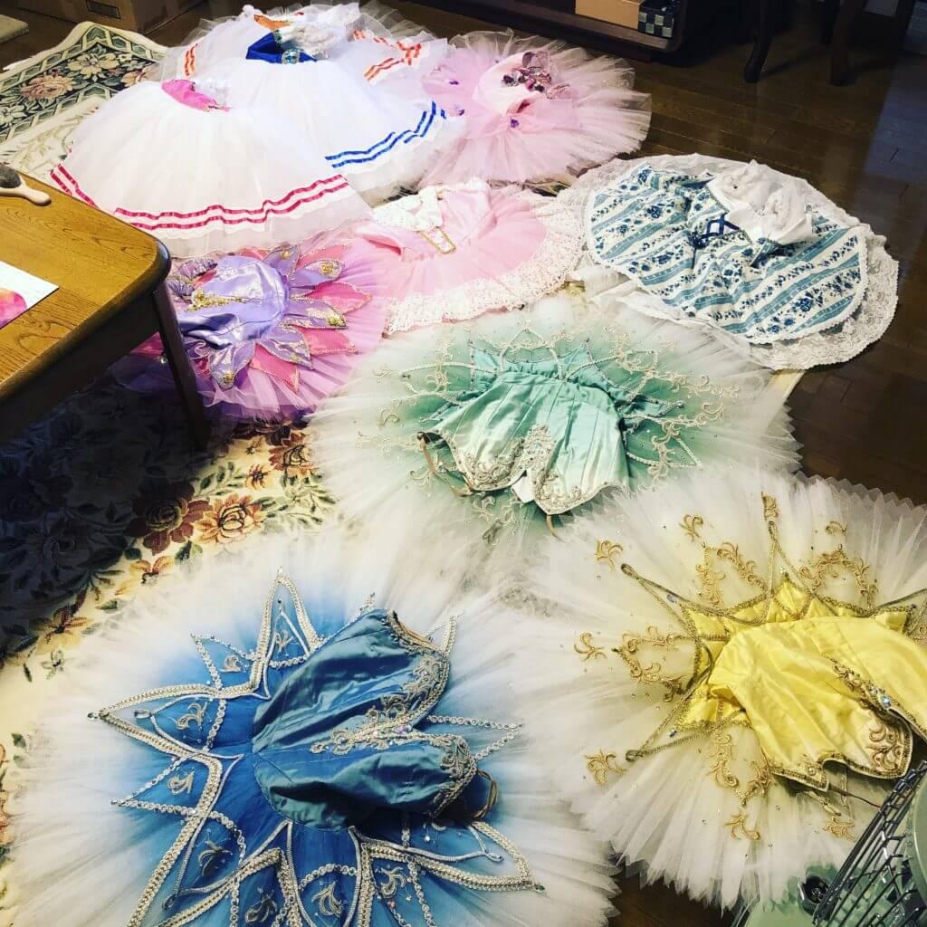 尼崎市武庫之荘のバレエスタジオクリスマスコンサートの衣装